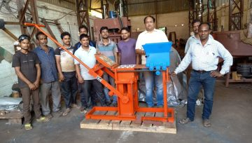 Terrablock Machinery Exports to Australia-First Consignment Ready for Despatch