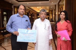 With MSME MINISTER-GOVT OF ODISHA